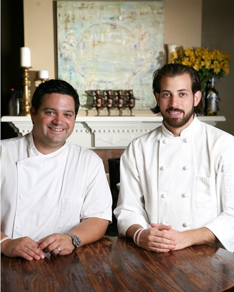 michael hudman and andrew ticer chefs at andrew michael italian kitchen 712 w brookhaven circle photo bob bayne - Andrew Michael Italian Kitchen