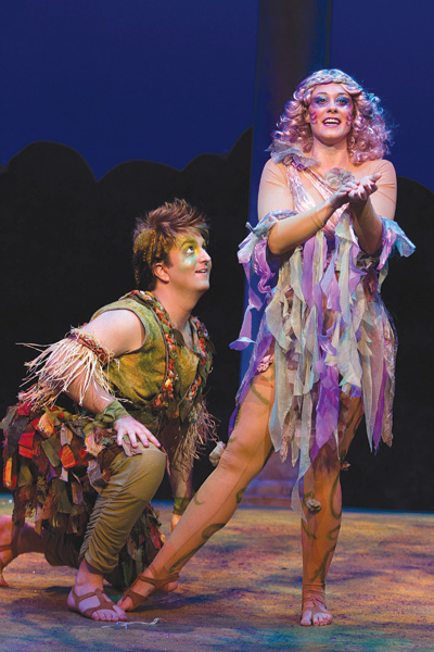 """a review of the story a midsummer nights dream The audience erupted into applause as the opening performance of """"a midsummer night's dream review: opening night of 'midsummer night email this story."""