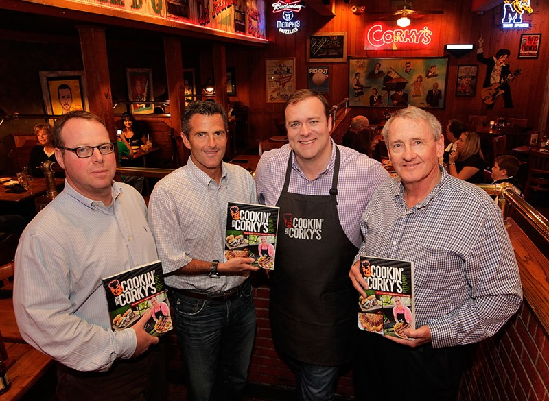 NEW CORKY'S COOKBOOK!!!