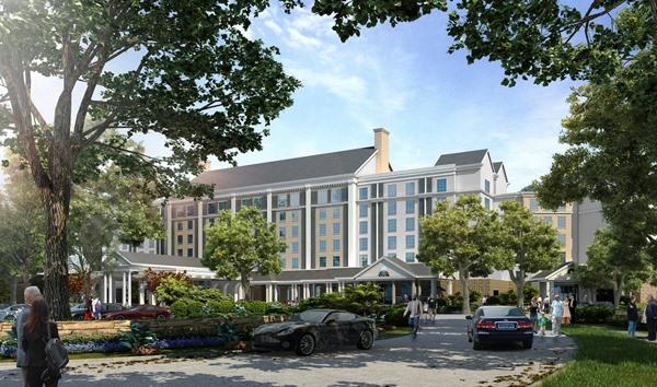 Elvis Presley Enterprises Breaks Ground Thursday Aug 14 On A 450 Room Hotel Near Graceland The Groundbreaking And Construction Marks Beginning Of