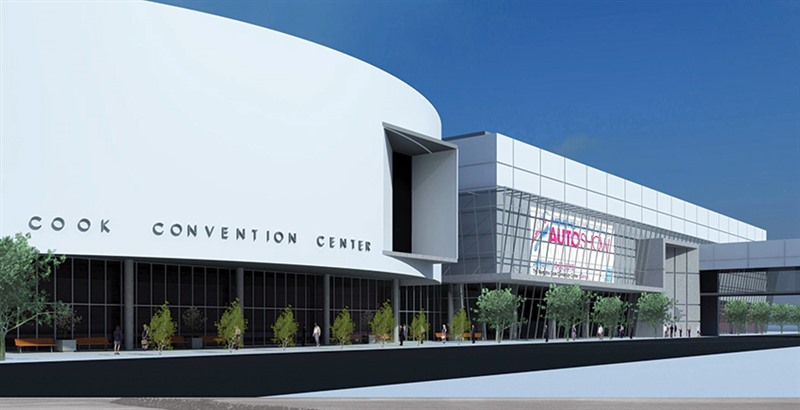 Strickland Seeks $21.5 M To Begin Work on Convention Center and Gateway