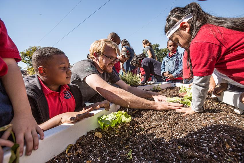 The Kitchen Community Is Growing Gardens In Memphis Schools
