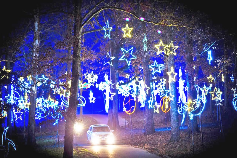 ... expected to make the procession through the Orion Starry Nights set of  light displays and holiday-themed arrangements this year at Shelby Farms  Park. - Starry Nights Making The Season Bright - Memphis Daily News