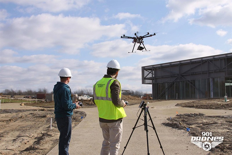Local Company 901Drones Has Been Using Drones Commercially Since January 2015 And Is Partnered In