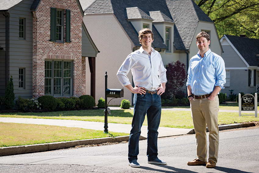 Good Brian Green left and Griffin Elkington are renovating and building new homes in established neighborhoods of Memphis that have stood the test of time for