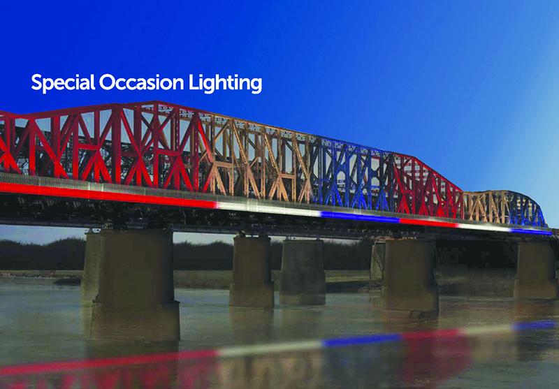 Private Donor Backs Harahan Bridge Lighting - Memphis Daily News