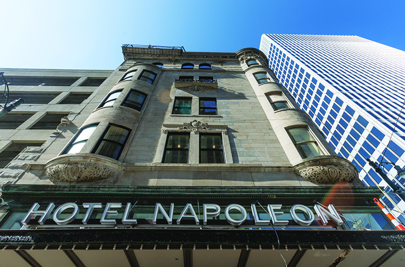 Hotel Napoleon Joins Growing List of Unique Downtown Lodging