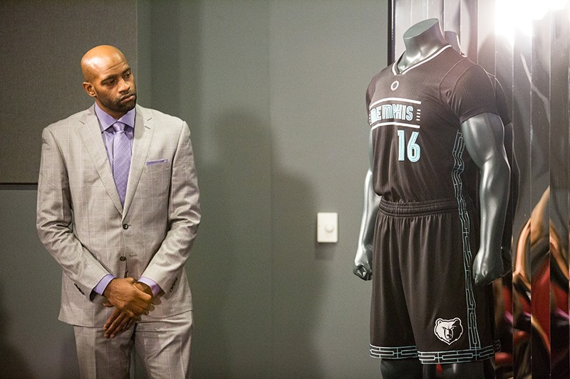 457ddd9bc6e5 Vince Carter and the rest of the Grizzlies will debut a special uniform to  honor Martin Luther King Jr. and the National Civil Rights Museum when the  ...