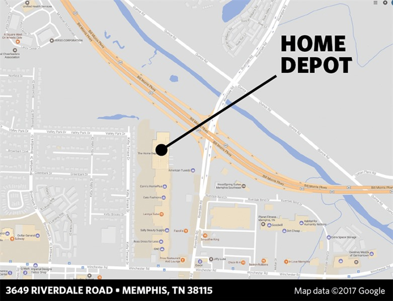 Excellent Hickory Hill Home Depot Site Sells For 15 Million Memphis Download Free Architecture Designs Scobabritishbridgeorg