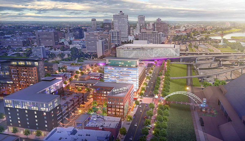 Pinch district plan may spell end to moratorium memphis for Memphis plan