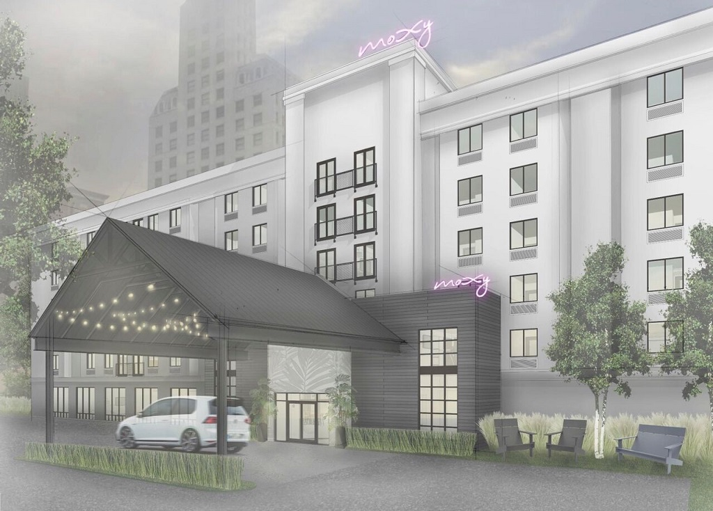 Court square sleep inn to rebrand undergo 3m in for Marriott texas motor speedway