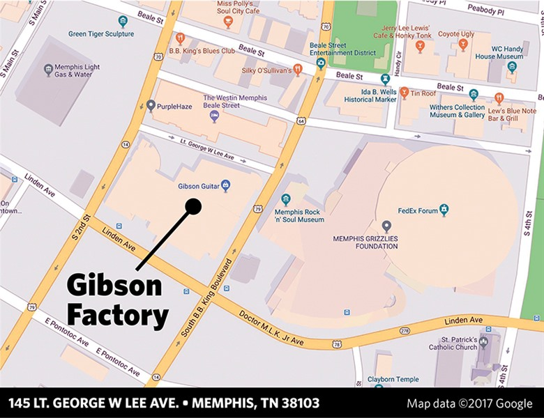 e699d7577a8 Out-of-Town Investors Buy Gibson Guitar Factory - Memphis Daily News