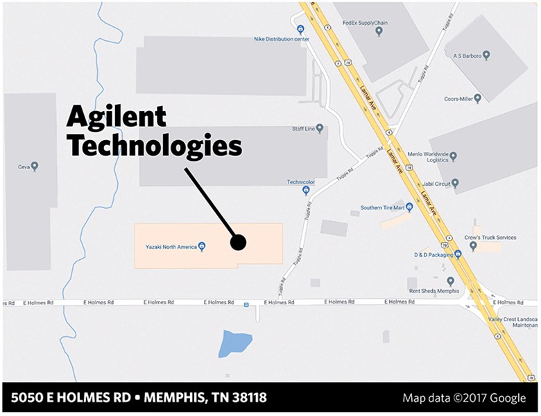 Agilent Expanding Distribution in Memphis, Creating More Than 100