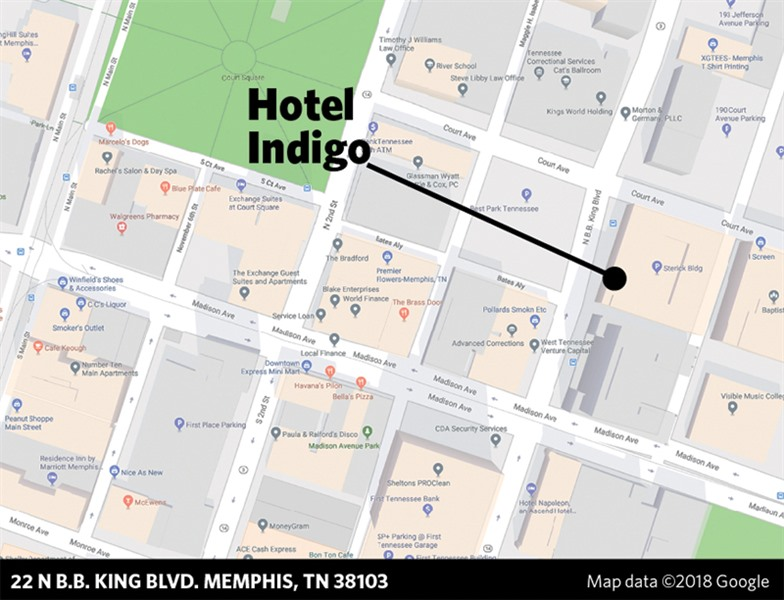 22 n bb king blvd memphis tn 38103 atlanta based three p partners has filed a 5 million building permit application with the office of construction